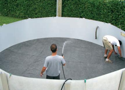 Piscines cousineau quipements et accessoires for Toile hivernale pour piscine hors terre